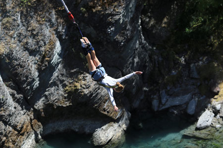 Bungee Jumping travel insurance